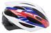 Alpina Cybric Helmet white-blue-red